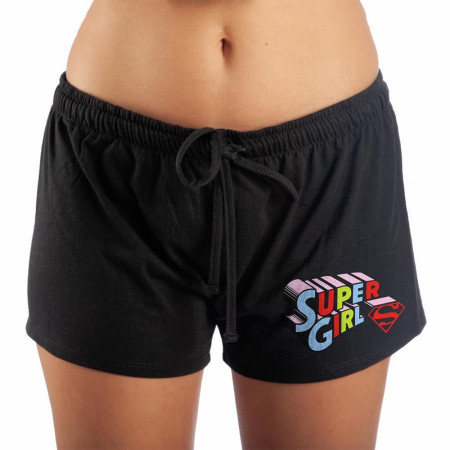 Supergirl Women's Sleep Shorts
