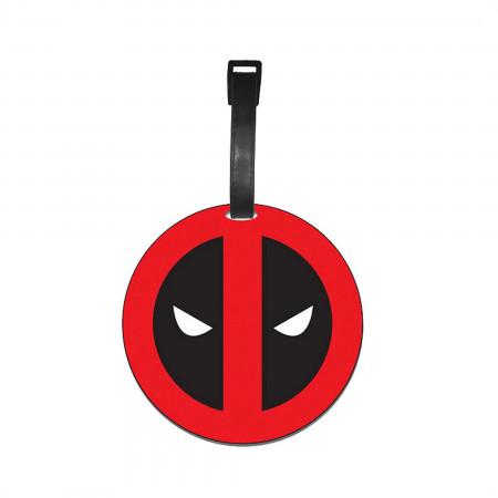 Deadpool Logo Luggage Tag