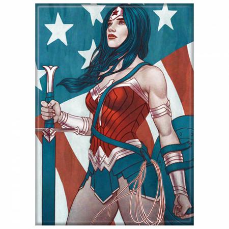 Wonder Woman USA Magnet