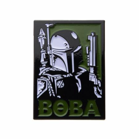 Star Wars Boba Fett Enamel Pin