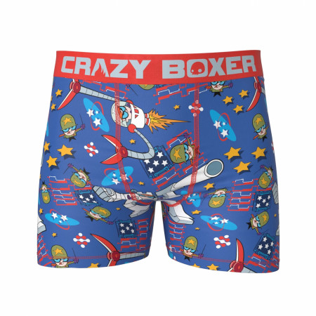 Dexters Lab USA Boxer Briefs