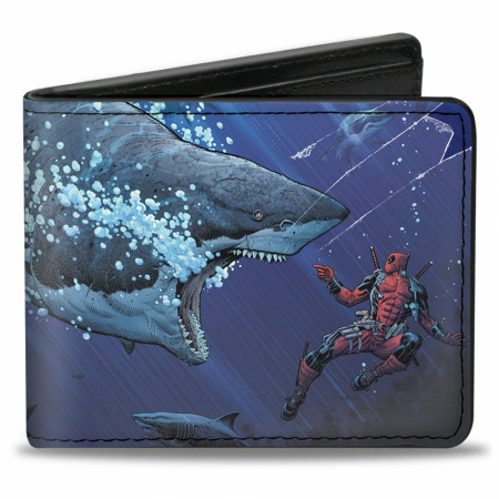 Deadpool Shark Wallet