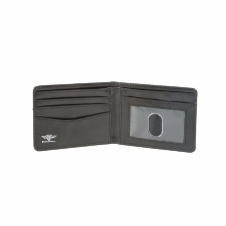 The Flash Laboratories Blue and White Wallet