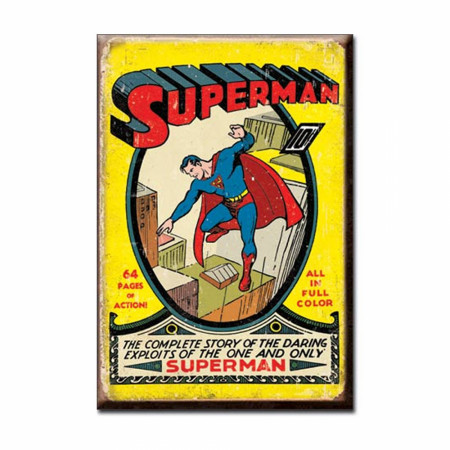 Superman #1 Retro 2x3 Magnet