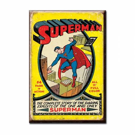 Superman #1 Retro 2x3 Magnet