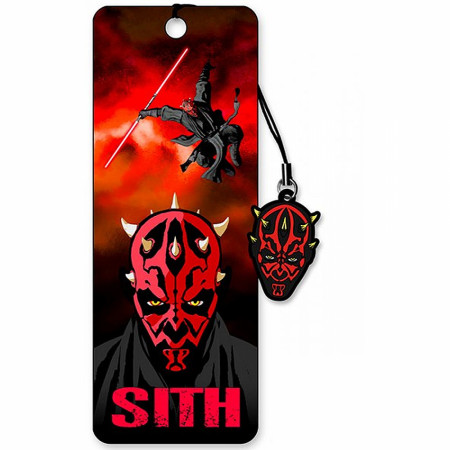 Darth Maul 3D Moving Image Bookmark