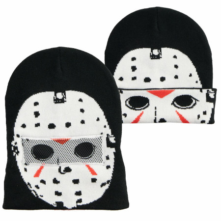 Friday The 13th Mask Beanie