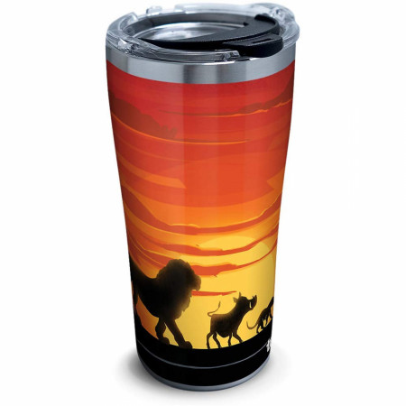 Lion King Silhouette 20 Ounce Stainless Steel Travel Mug