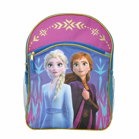 """Disney Frozen 2 Elsa & Anna Large 16"""" Backpack"""