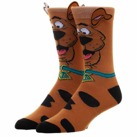 Scooby-Doo Novelty Ears Crew Sock