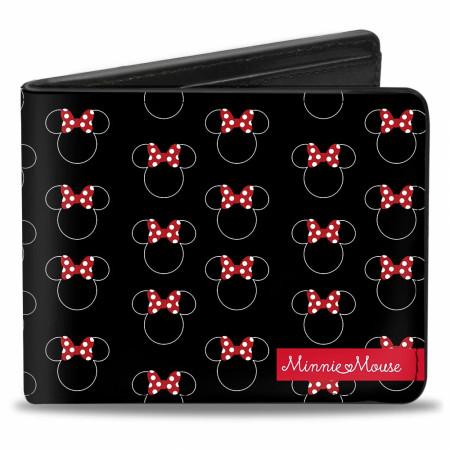 Disney Minnie Mouse Icons Bi Fold Wallet