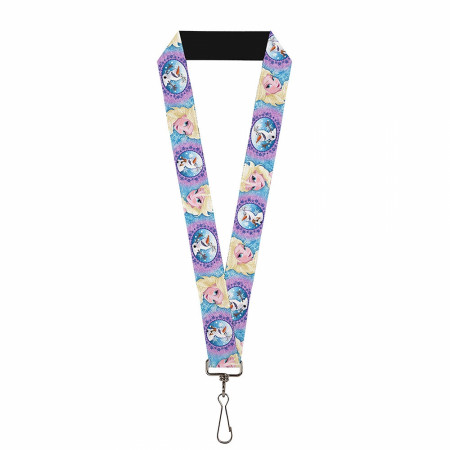 Disney Frozen 2 Elsa and Olaf Lanyard