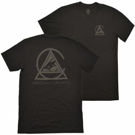 Arrogant Bastard Men's Black Arrogant Consortia T-Shirt