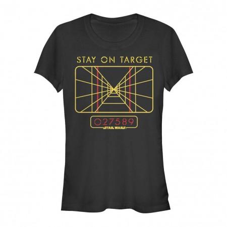 Star Wars Stay On Black T-Shirt