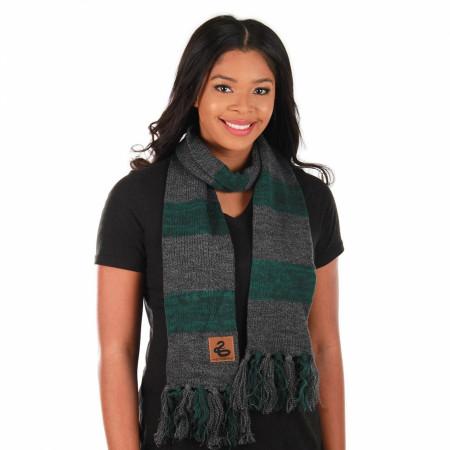 Harry Potter Slytherin Knitted Scarf