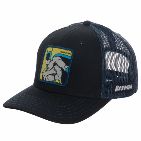 Batman Patch Trucker Hat