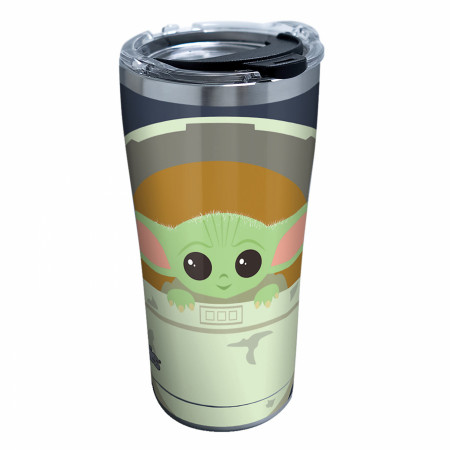 The Mandalorian Baby Yoda Cartoon Tervis® Stainless Steel 20 oz Tumbler