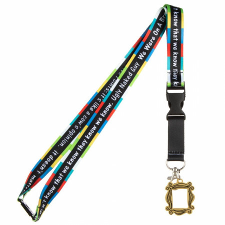 Friends Quotes Taping Lanyard