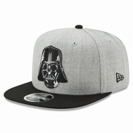 Star Wars Darth Vader Head Heather New Era 9Fifty Adjustable Hat