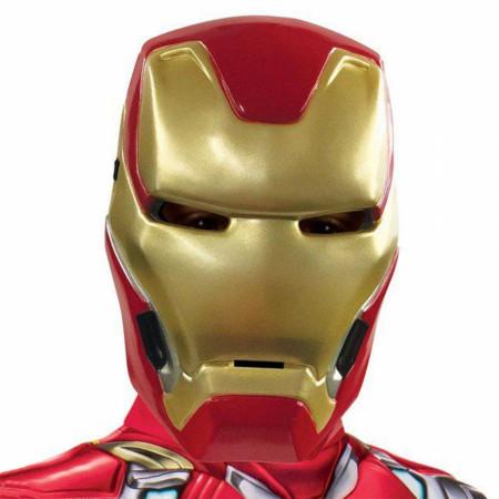 Iron Man Youth Costume Half Mask