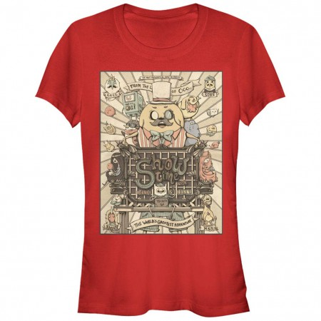 Adventure Time Show Time Red T-Shirt