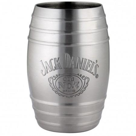 Jack Daniels Bottle Logo Barrel Shot Glass