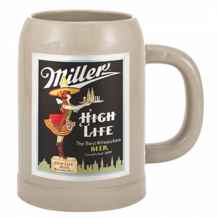 Miller High Life Beer Mug