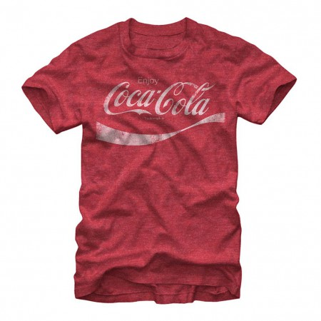 Coca-Cola The Taste Of Time Red T-Shirt