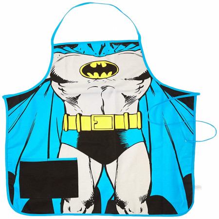 Batman Costume Kitchen Apron
