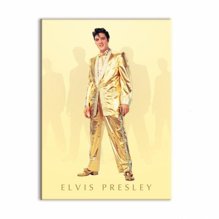 Elvis Presley Gold Suit Character Magnet