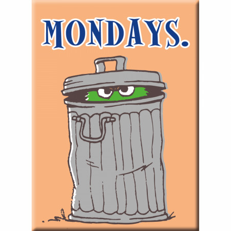 Sesame Street Mondays Magnet