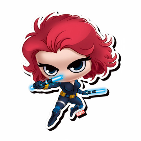 Black Widow Chibi Magnet