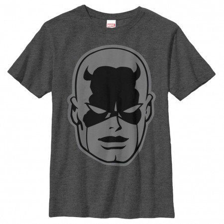 Daredevil Black Gray Youth T-Shirt