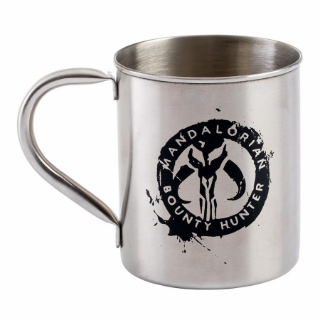 Star Wars The Mandalorian 12 oz. Metal Mug