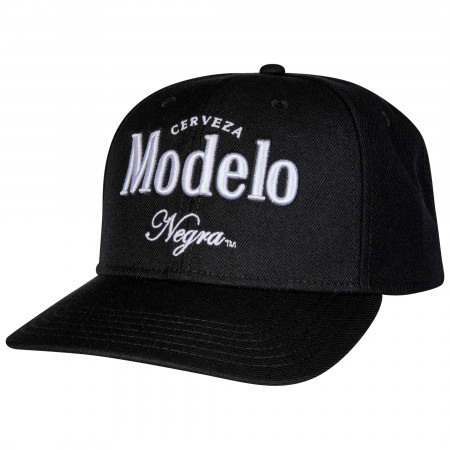 Negra Modelo Pre-Curved Adjustable Snapback Hat