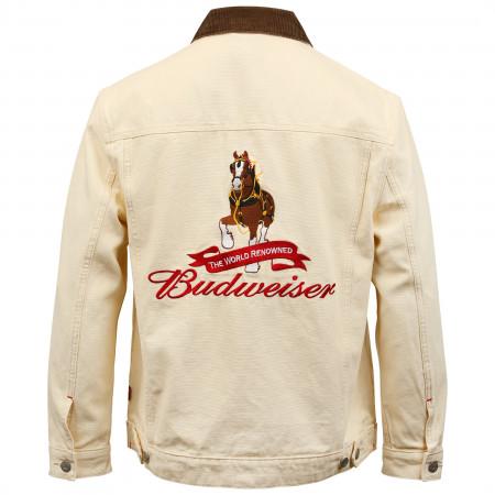 Budweiser Clydesdale Canvas Work Jacket