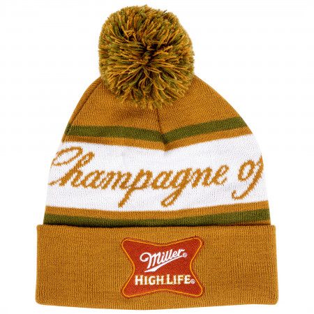Miller High Life The Champagne Of Beers Knit Cuffed Beanie