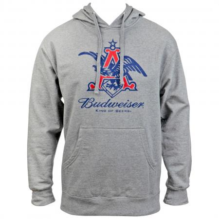 Budweiser Anheuser Eagle Logo Hoodie