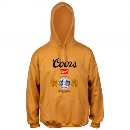 Coors Golden Banquet Beer Logo Hoodie