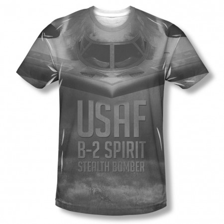 US Air Force Stealth Black Sublimation T-Shirt