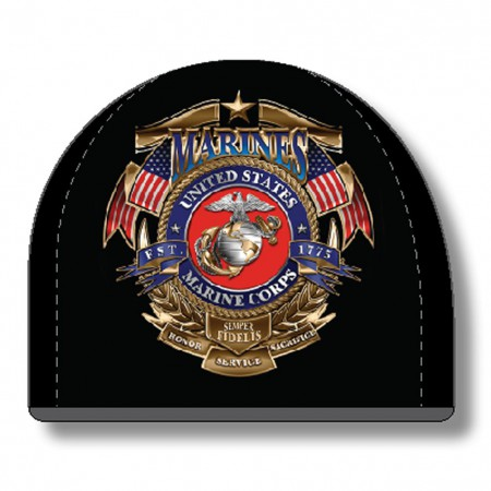 USMC Marines Black Hat Beanie