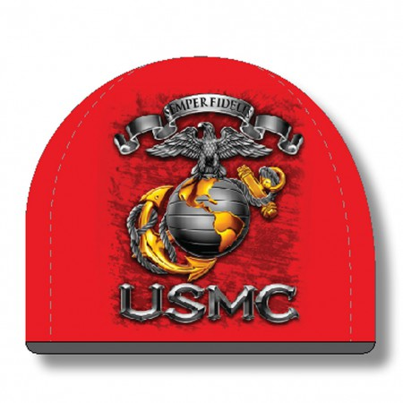 USMC Marines Red Hat Beanie