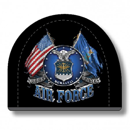 US Air Force Black Hat Beanie