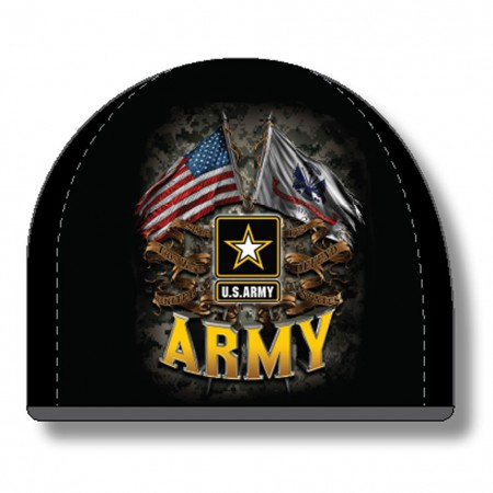 US Army Black Hat Beanie