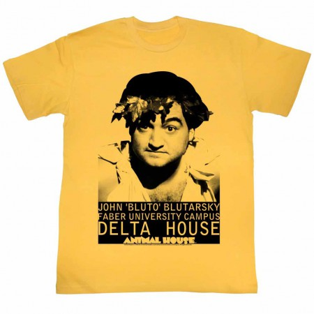 Animal House Face Yellow TShirt