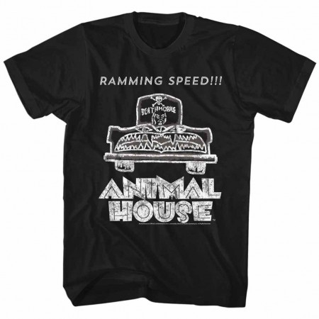 Animal House Ramming Speed Black TShirt
