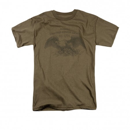 US Army Property Of Green T-Shirt