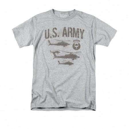 US Army Ariborne Gray T-Shirt