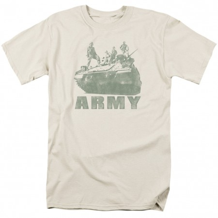 US Army Strong Tank White T-Shirt