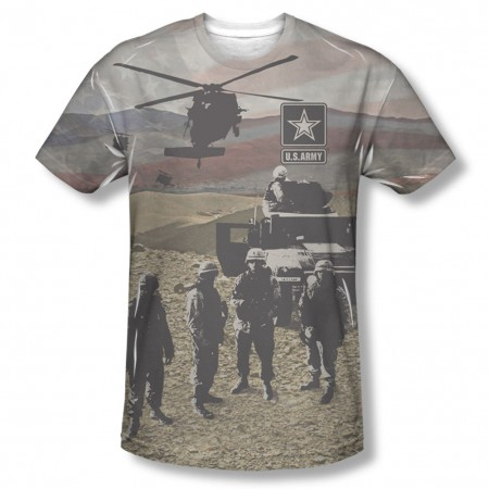 US Army Values Sublimation T-Shirt